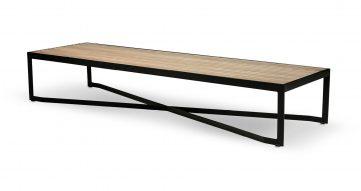 """שולחן סלון מטריקס 160 ס""""מ בגוון אלון טבעי"""