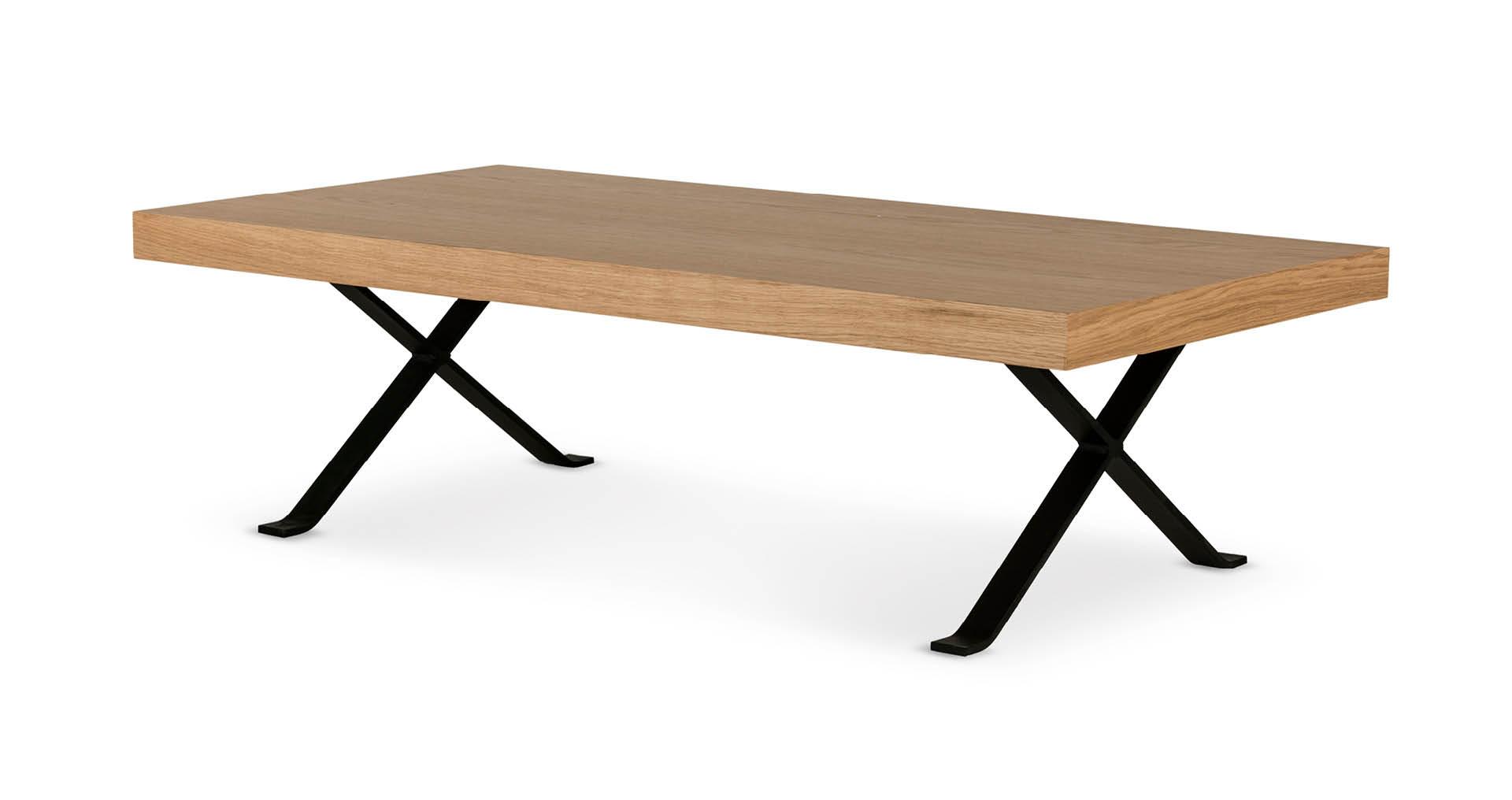 """שולחן סלון מטריקס 120 ס""""מ בגוון אלון טבעי"""