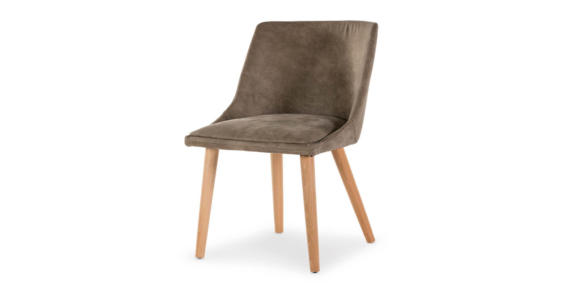 כסא אלברטה בגוון פקאן