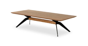 """שולחן סלון אוסקר 160 ס""""מ בגוון אלון טבעי"""