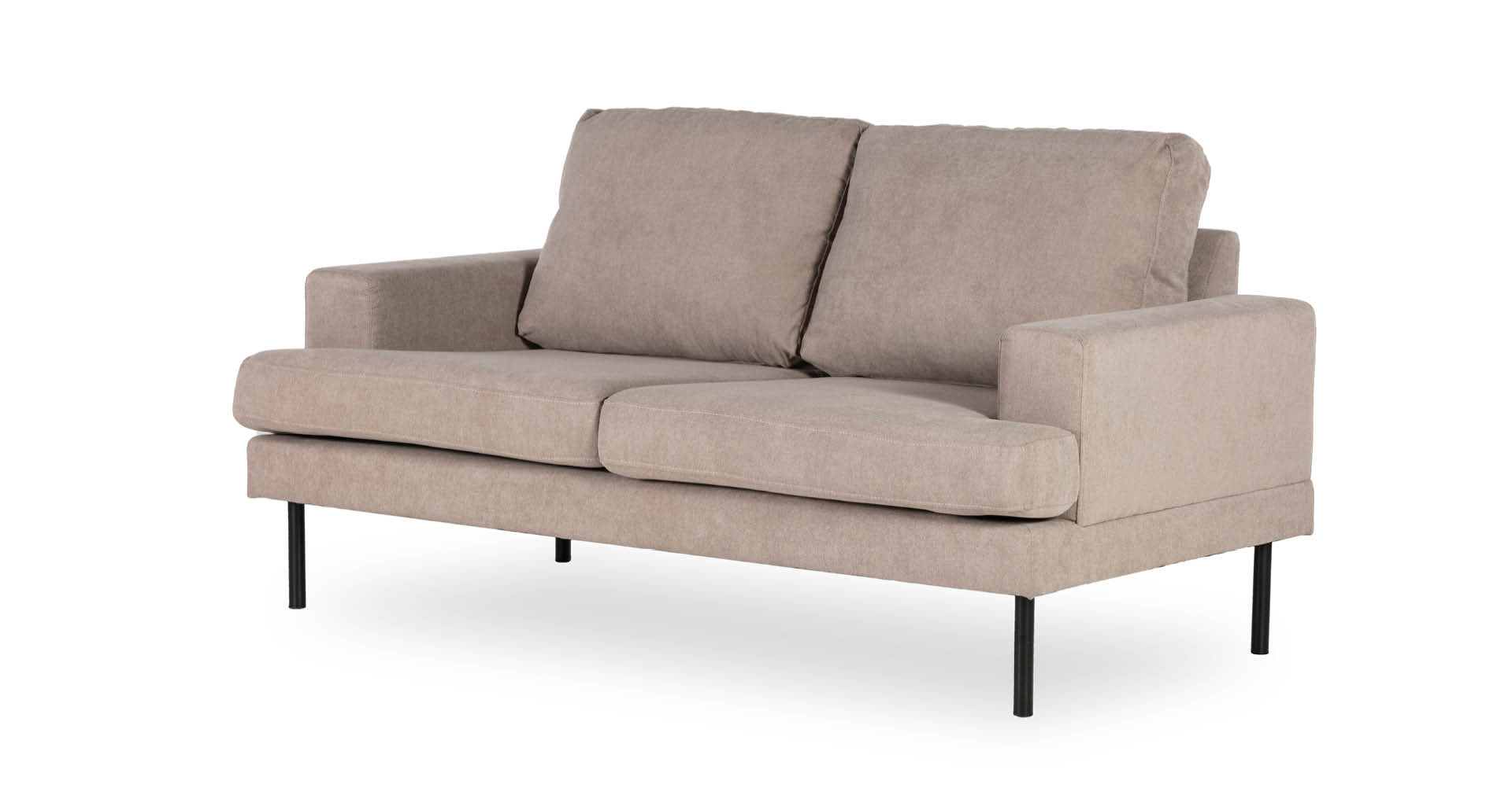 """ספה נוטינגהאם 165 ס""""מ בגוון גרייז' טוסקני"""
