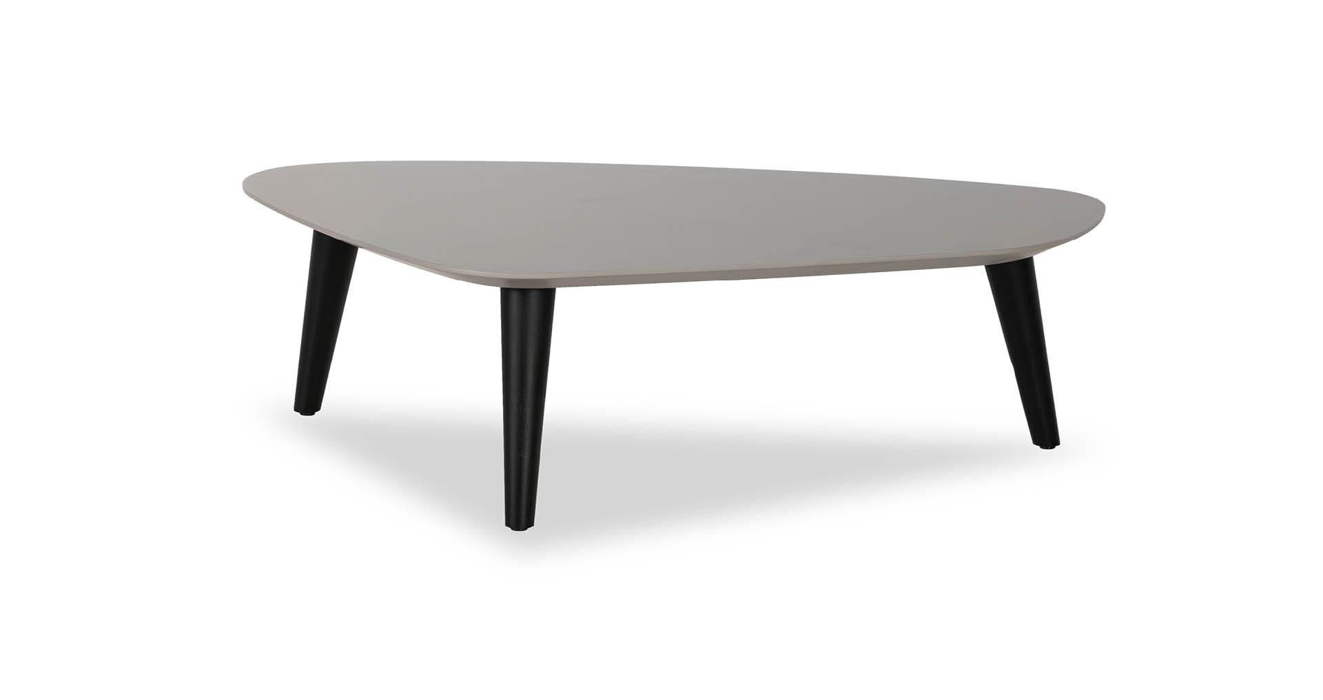 """שולחן סלון קלאוד 98 ס""""מ בגוון אפור גרייז'"""