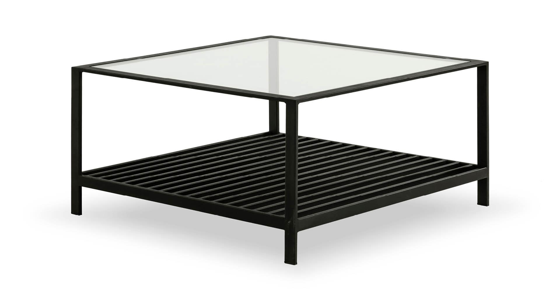 """שולחן סלון קייט 70 ס""""מ בגוון שחור"""