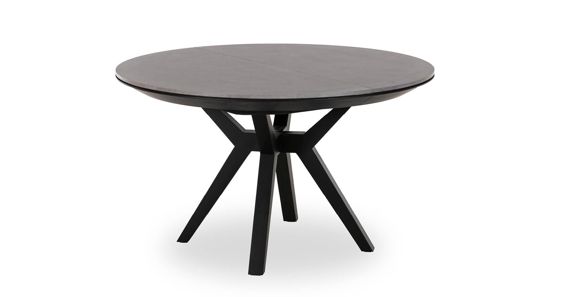 """שולחן אוכל ליסבון נפתח  130 ס""""מ בגוון קליי סטון"""
