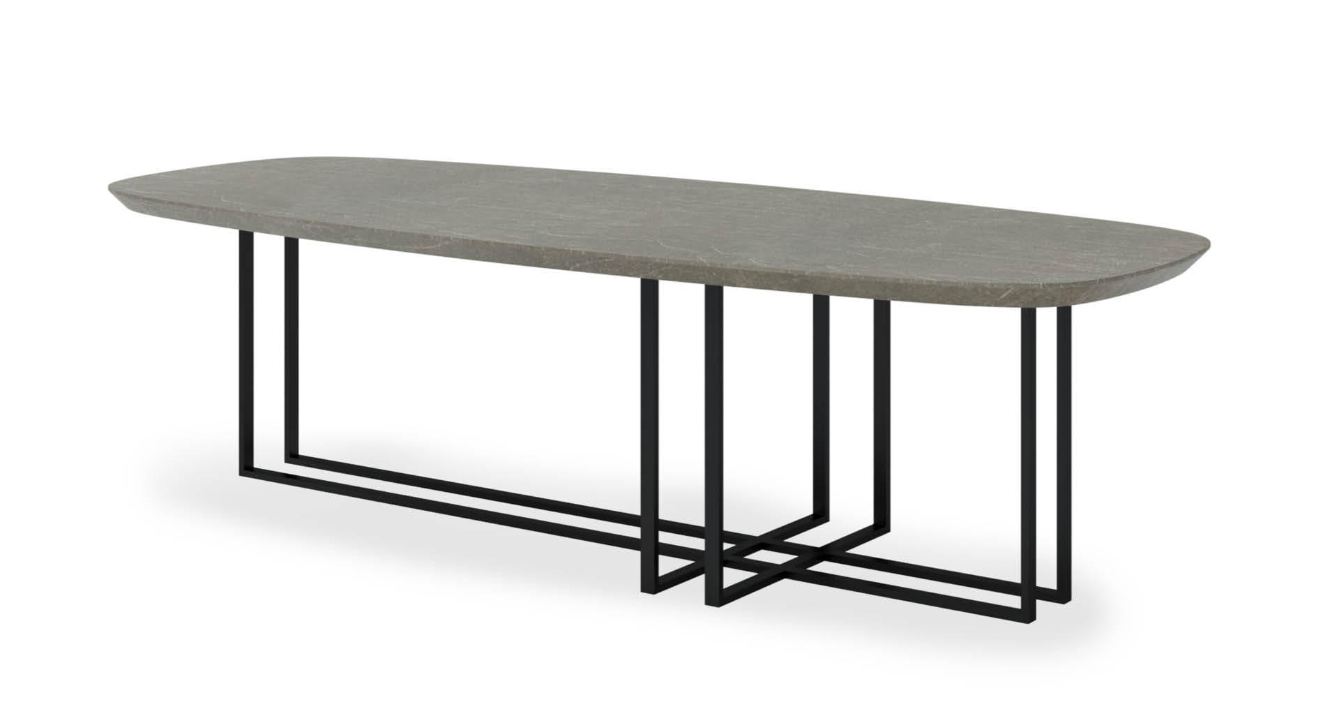 """שולחן סלון בוסטון 150ס""""מ בגוון שולחן סלון"""