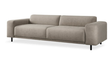 """ספה איטס 2000 250 ס""""מ בגוון שומשום בז'"""