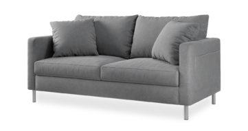 """ספה אניסטון 165 ס""""מ בגוון אפור נורדי"""