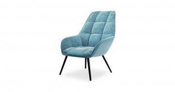 כורסא אוליביה בגוון תכלת הידרו
