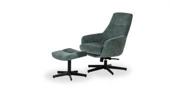כורסא + הדום איזבלה בגוון ירוק קנקון