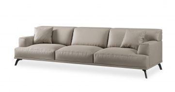 """ספה שרי 295 ס""""מ בגוון אפור טודרה"""
