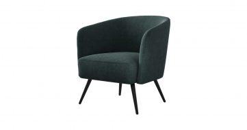 כורסא בארקלי בגוון כחול מעושן
